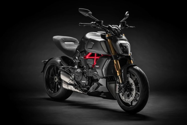 Ducati starts production of the Diavel 1260